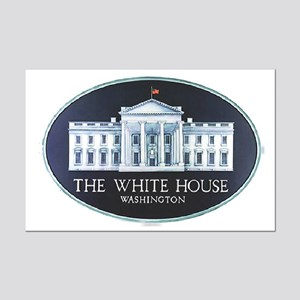 The White House Mini Poster Print