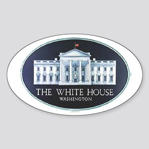 The White House Sticker (Oval)