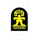 509th Infantry Sticker (Rectangle)