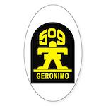 509th Infantry Sticker (Oval)