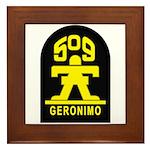 509th Infantry Framed Tile