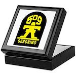 509th Infantry Keepsake Box