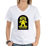 509th Infantry Women's V-Neck T-Shirt