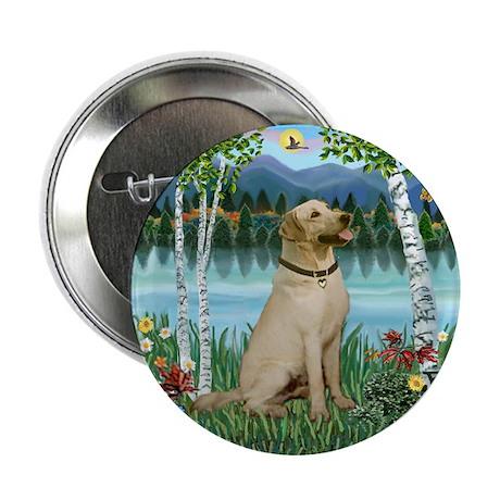"""Birches - Labrador (Y6) 2.25"""" Button (100 pack)"""