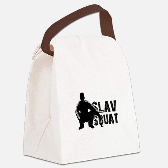 Slav Squat Canvas Lunch Bag