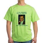 Wait a Minute Green T-Shirt