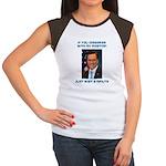 Wait a Minute Women's Cap Sleeve T-Shirt