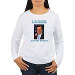 Wait a Minute Women's Long Sleeve T-Shirt