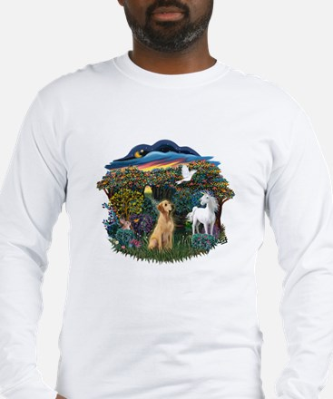 Woodland Magic-Lab (Y8) Long Sleeve T-Shirt