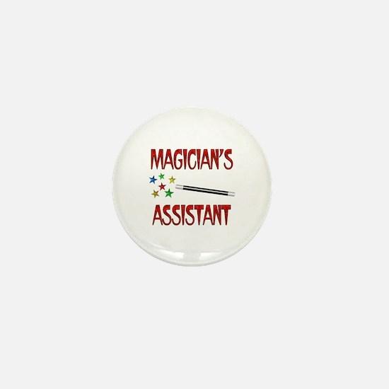 Magician's Assistant Mini Button