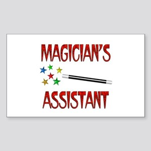 Magician's Assistant Sticker (Rectangle)