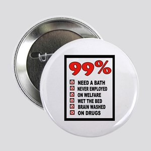 "99% WRONG 2.25"" Button (10 pack)"