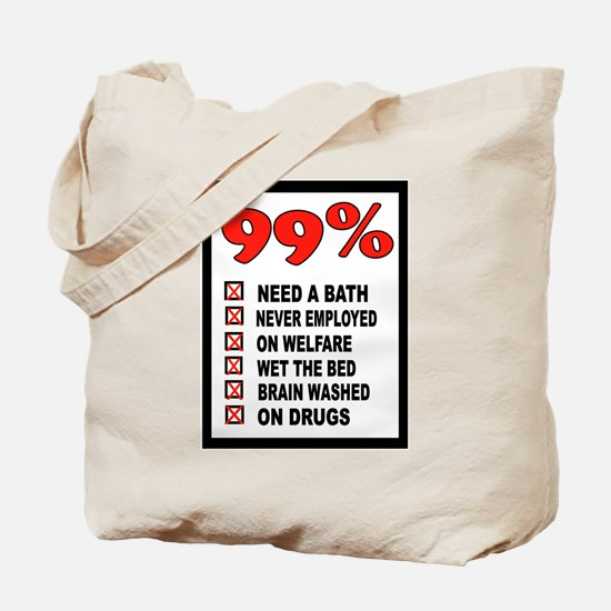99% WRONG Tote Bag
