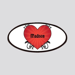 Custom Name Tattoo Heart Patches
