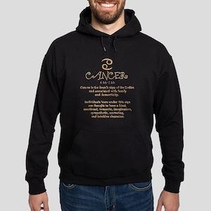 Cancer Hoodie (dark)