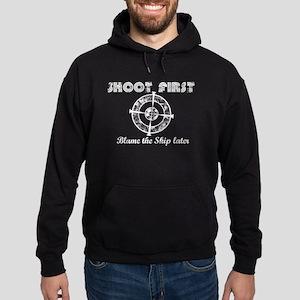 Shoot First Dark Shirts Hoodie (dark)