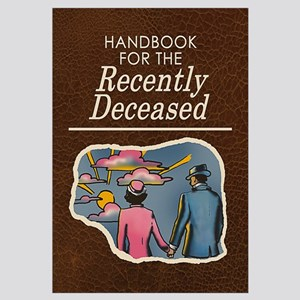 Handbook For The Recently Deceased Wall Art