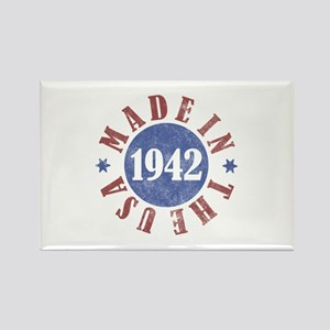1942 Made In The USA Rectangle Magnet