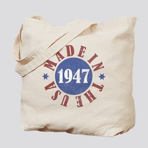 1947 Made In The USA Tote Bag