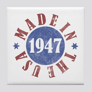 1947 Made In The USA Tile Coaster