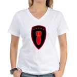 71st EOD Women's V-Neck T-Shirt