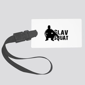 Slav Squat Large Luggage Tag