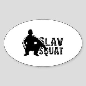 Slav Squat Sticker
