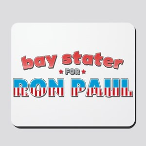 Bay Stater For Ron Paul Mousepad