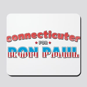Connecticuter For Ron Paul Mousepad