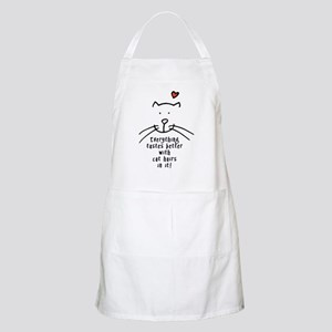 Everything tastes better with cat hair in it Apron