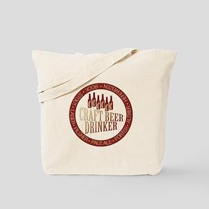 Craft Beer Drinker Tote Bag