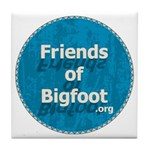 Friends of Bigfoot Tile Coaster