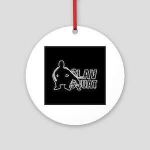Slav Squat Round Ornament