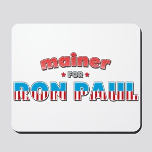Mainer For Ron Paul Mousepad
