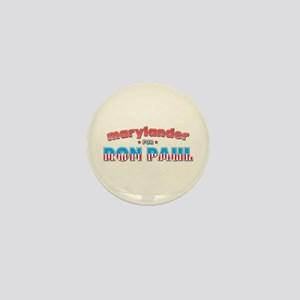 Marylander For Ron Paul Mini Button