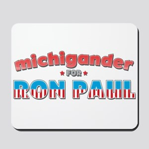 Michigander For Ron Paul Mousepad
