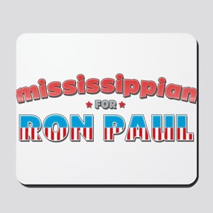 Mississippian For Ron Paul Mousepad