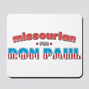 Missourian For Ron Paul Mousepad