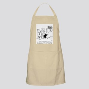 Energy Conservation Be Damned Apron