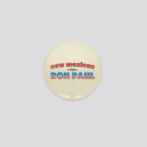 New Mexican For Ron Paul Mini Button