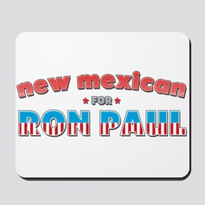 New Mexican For Ron Paul Mousepad