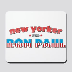 New Yorker For Ron Paul Mousepad