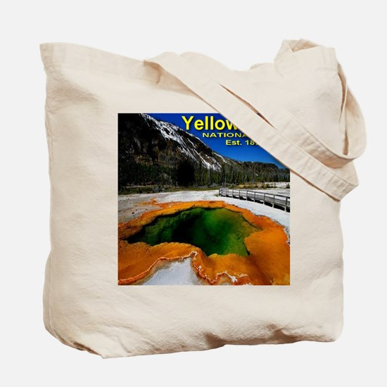 I'd Rather Be In Yellowstone Tote Bag