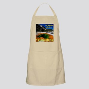 I'd Rather Be In Yellowstone Apron