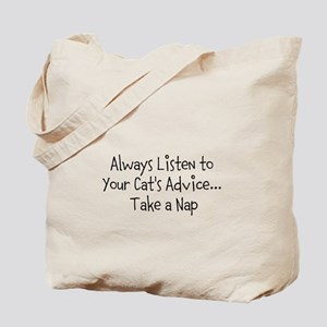 Cat's Advice Tote Bag