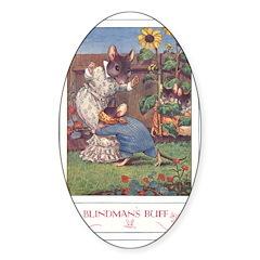 Blindman's Buff Sticker (Oval 10 pk)