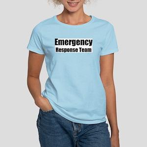 """Emergency Response Team"" Women's Pink T-Shirt"