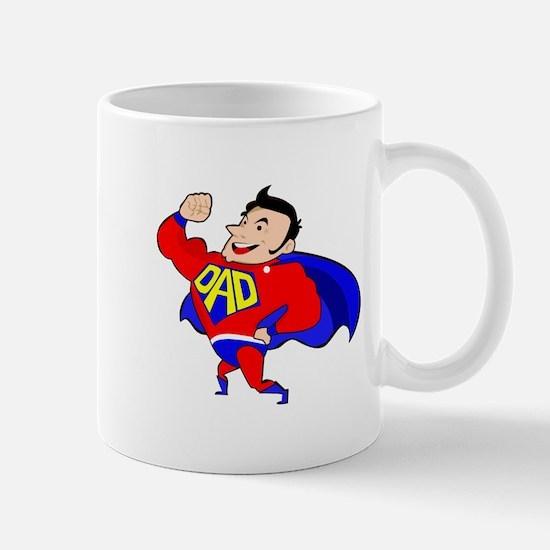 Fathers Day Super Dad Mugs