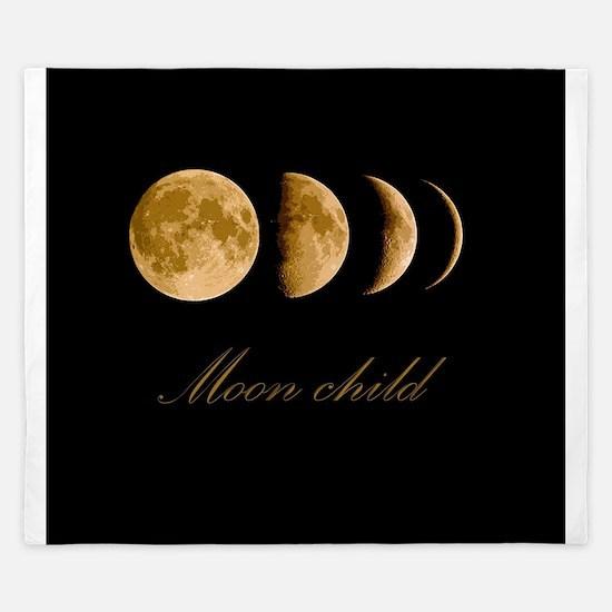 Moon child King Duvet
