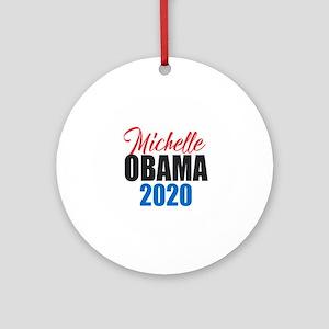 Michelle Obama 2020 Round Ornament